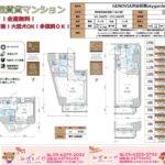★新築★水商売賃貸情報♪GENOVIA渋谷笹塚skygarden