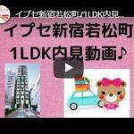 イプセ新宿若松町♪1LDK内見動画