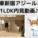 AXAS東新宿アジールコート♪1LDK内見動画